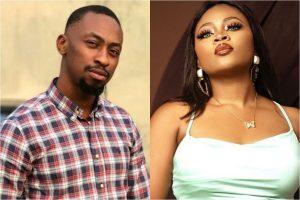 #BBNaija 2021: Nigerians Drag Married Housemate Tega For Allowing Saga Suck Her Nipple (Video)