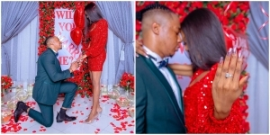 Ultimate Love Star, Iyke Reveals Why He Proposed To His Girlfriend, Theresa (Video)