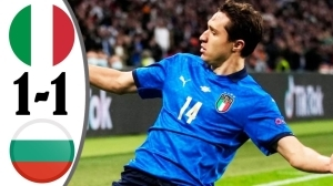 Italy vs Bulgaria 1 - 1 (2022 World Cup Qualifiers Goals & Highlights)