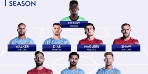 Carragher & Neville name their Teams of the Season with several glaring omissions