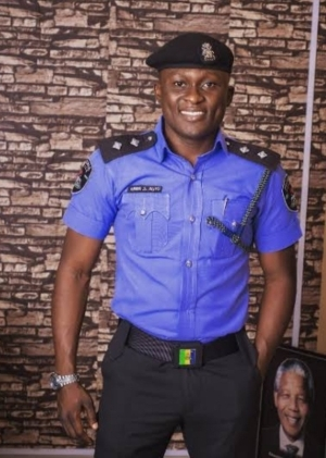 Popular police officer, Aliyu Giwa, expresses gratitude to God after surviving two ghastly car accidents in one day