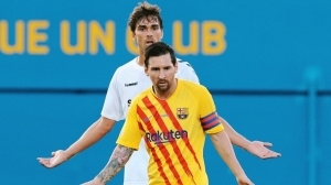 Lionel Messi Lashes Out At Aggressive Opponent As He Makes His Barcelona Return
