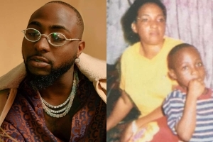Davido Shares Touching Letter He Wrote To His Late Mum Veronica Adeleke