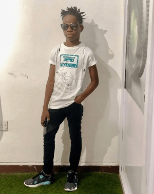 My dad is the greatest of all time – Wizkid's son, Boluwatife