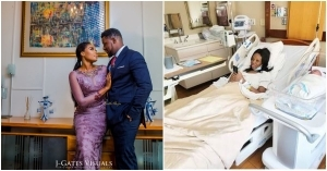 """The Don Is Here, Thank You Lord"" – Actor, Daniel K Daniel, And Wife Welcome Second Child"