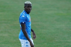 UEFA Hails Osimhen After Second Hattrick For Napoli