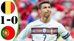 Belgium vs Portugal 1 - 0 (EURO 2020 Goals & Highlights)