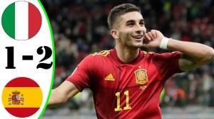 Italy vs Spain 1 - 2 (UEFA Nations League 2021 Goals & Highlights)