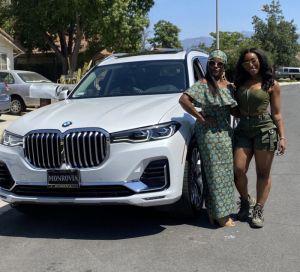Nigerian Lady Gifts Her Mum A BMW X7 Worth N26 Million For Her 59Th Birthday