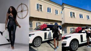 Fashion Designer, Tolu Bally Acquires Brand New Range Rover SUV (Video)