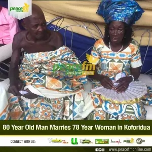 80-year-old man marries 78-year-old girlfriend after dating for 25 years