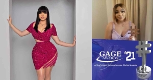 Gage Awards: Nengi Beats Erica To Become The Online Influencer Of The Year (Video)
