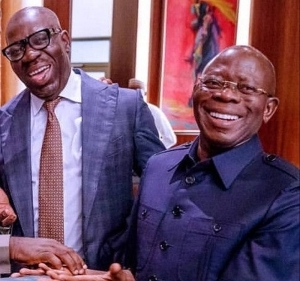 Ignore The Past, We Are Friends, Brothers – Oshiomole Accepts Defeat, Apologizes To Obaseki