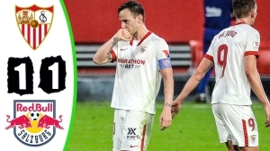 Sevilla vs RB Salzburg 1 − 1 (Champions League 2021 Goals & Highlights)