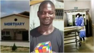 Mortuary attendant reveals how food vendors, pastors & 'runs girls' use water from cleaning dead bodies to boost their business – (Video)