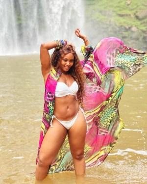 Actress, Osas Ighodaro, Flaunts Her Curves in Sexy Bikini Photos