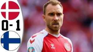 Denmark vs FinIand 0 − 1 (EURO 2020 Goals & Highlights)
