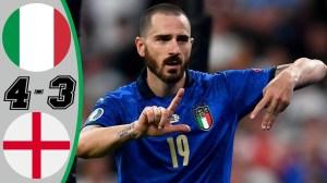 Italy vs England 1 - 1 (Pen 3-2) (EURO 2020 Final Goals & Highlights)