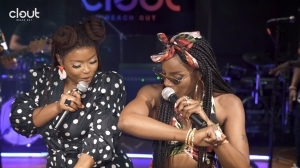 Seyi Shay & Yemi Alade - Pempe (Clout Live Performance) (Video)