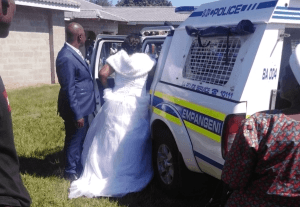 Bride, groom, priest and over 40 guests arrested for violating total lockdown order in South Africa (Photos/videos)