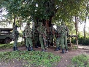 Kenyan soldiers and police officer exchange fire after mistaking each other for terrorists