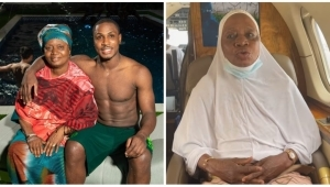 """""""Up NEPA No Dey UAE"""" – Watch As Jude Ighalo's Mother Reveals She'll Rather Remain In The UAE Than Return To Nigeria (Video)"""