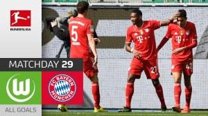 Wolfsburg vs Bayern Munich  2 - 3 (Bundesliga Goals & Highlights 2021)