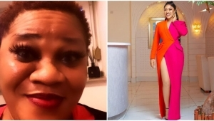 Actress, Tonto Dikeh And Blogger, Stella Dimoko Korkus Settle Long-time 'Ugly' Beef