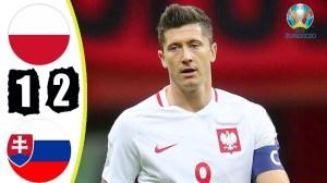 Poland vs Slovakia 1 − 2 (EURO 2020 Goals & Highlights)