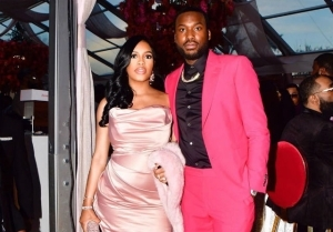 """The Best Gift "" - Rapper, Meek Mill Declares After Welcoming Baby With Girlfriend On His 33rd Birthday"