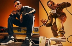 Wizkid Announced As New Face Of Puma Sportswear In Striking New Campaign Images (Photos)