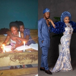 Love In The Air! Ekiti State University Students Who Used To Read Together Wed After Graduation