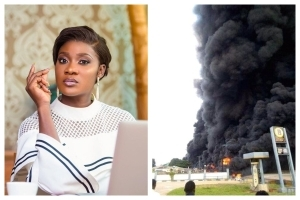 Mercy Johnson Sympathizes With Kogi State After Lives And Properties Were Lost From The Gas Explosion