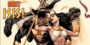 Black Adam Actress Teases Her Mysterious Role With Image of Comic Research