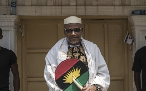 Nnamdi Kanu's family raises alarm over soldiers presence