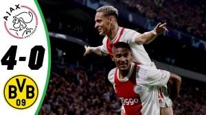 Ajax vs Dortmund 4 - 0 (Champions League 2021 Goals & Highlights)
