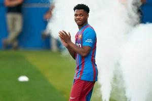 Barcelona confirm Ansu Fati will take over Lionel Messi's No. 10 shirt