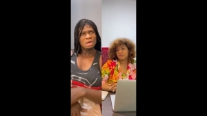 Zicsaloma - Omotola Arrests The Guy Who Drew he (Comedy Video)
