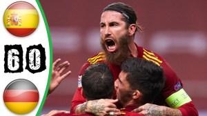 Sрaіn vs Gеrmаnу 6 - 0 (UEFA Nations League Highlights)