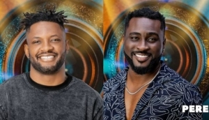 BBNaija: Cross And Pere Become Suspicious About Nini And Saga 'Fight', Set To Investigate