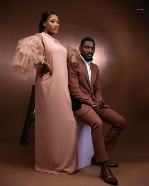 Tobi Bakre Gushes Over His Bride -To -Be, Shares More Pre-wedding Photos