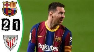 Barcelona vs Athletic Bilbao  2 - 1 (LA Liga  Goals & Highlights 2021)