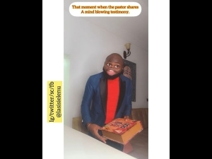 Lasisi Elenu - When The Pastor Shares A Mind Blowing Testimony (Comedy Video)