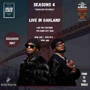 Major League DJz – Amapiano Balcony Mix (Live in Oakland)