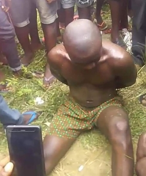 OMG!! Man Buries His Own Daughter Alive For Ritual Purpose (See Photos)