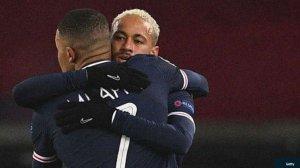 PSG Boss Tuchel Praises Neymar For giving Mbappe Penalty To End Drought
