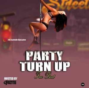 Dj Ozzytee – Party Turn Up (Instrumental)
