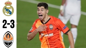 Real Madrid vs Shakhtar Donetsk 2 - 3 | UCL All Goals And Highlights (21-10-2020)