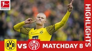 Borussia Dortmund vs Mainz 3 - 1 (Bundesliga2021 Goals & Highlights)