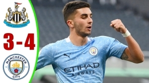Newcastle United vs Manchester City 3 − 4 (Premier League Goals & Highlights 2021)
